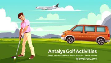 Antalya Golf Activities