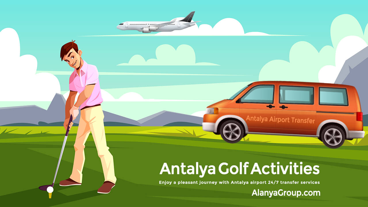 Antalya Golf Activities