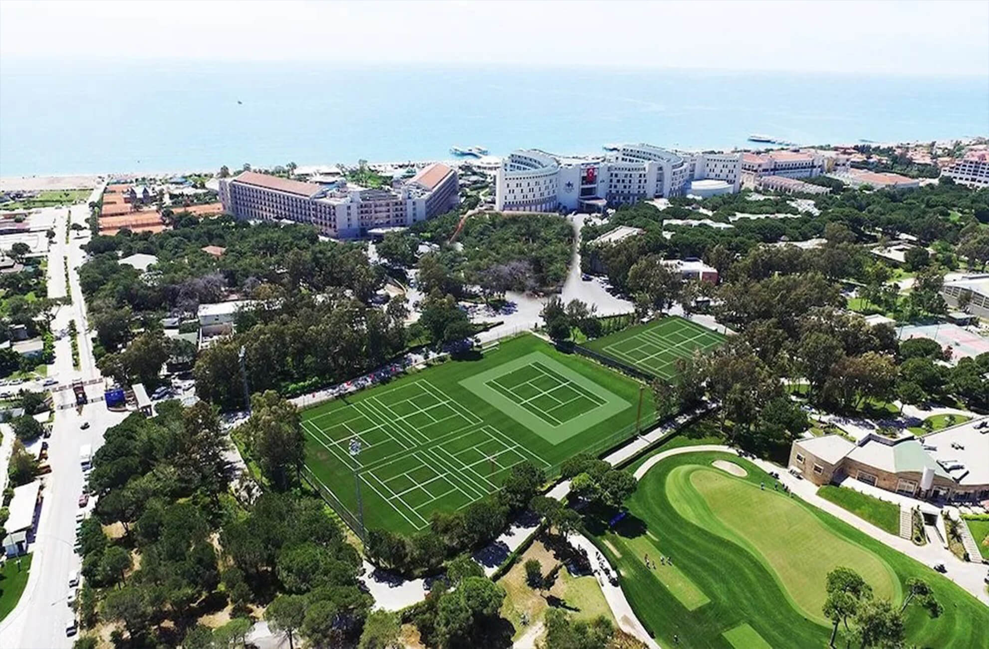 Belek Golf Green Turf Sports