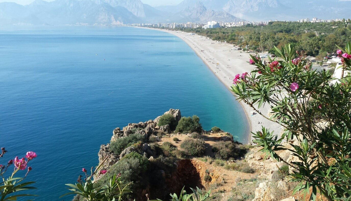 The best beach in Antalya