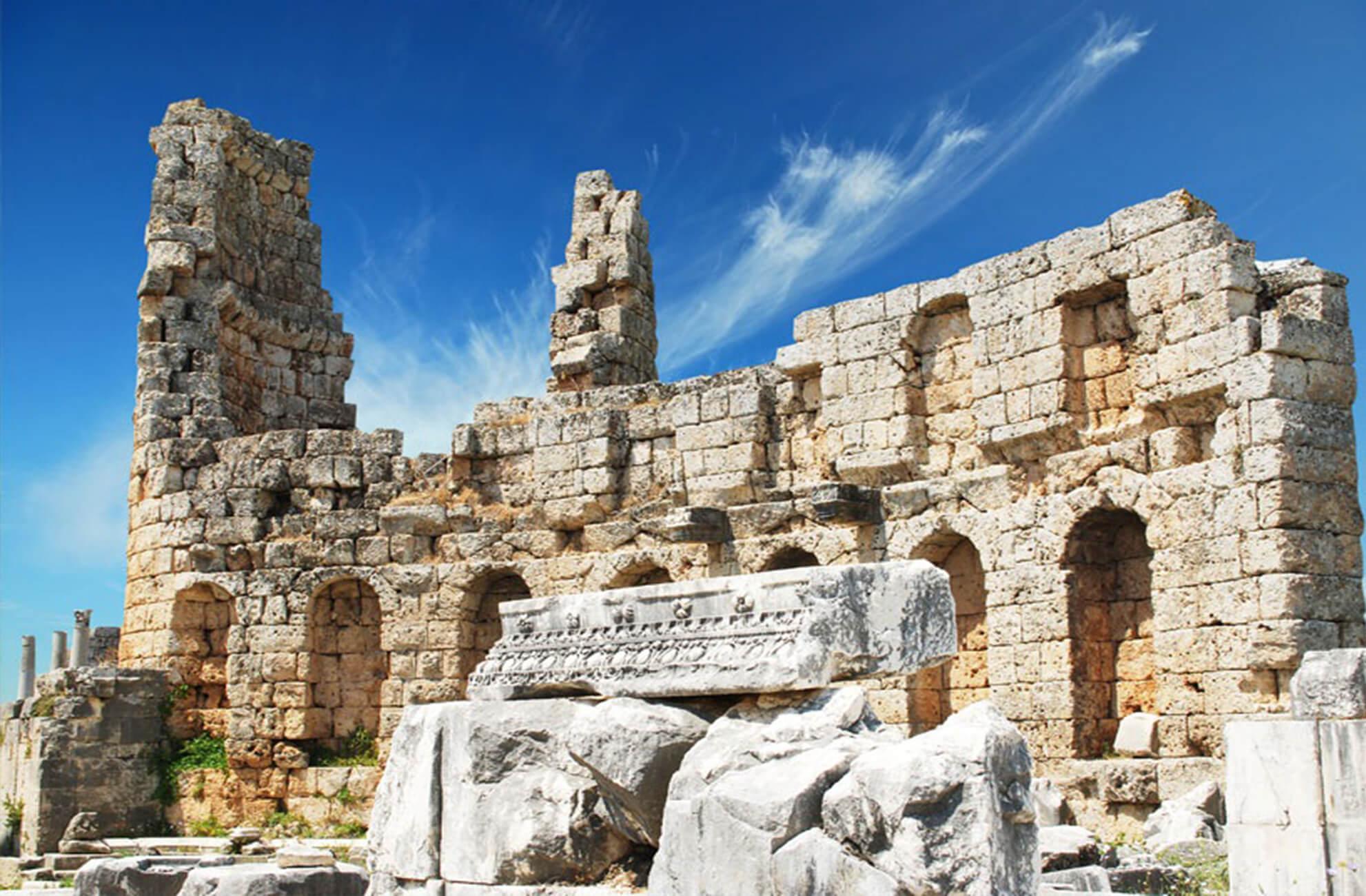 belek Perge Ancient City