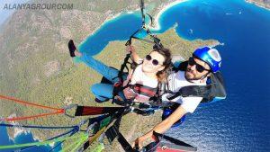 Antalya parachute tour