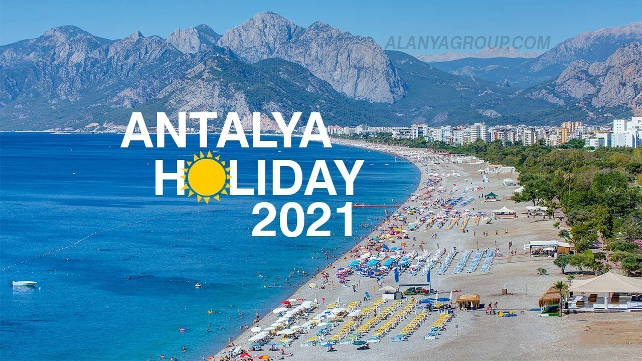Antalya summer holiday 2021