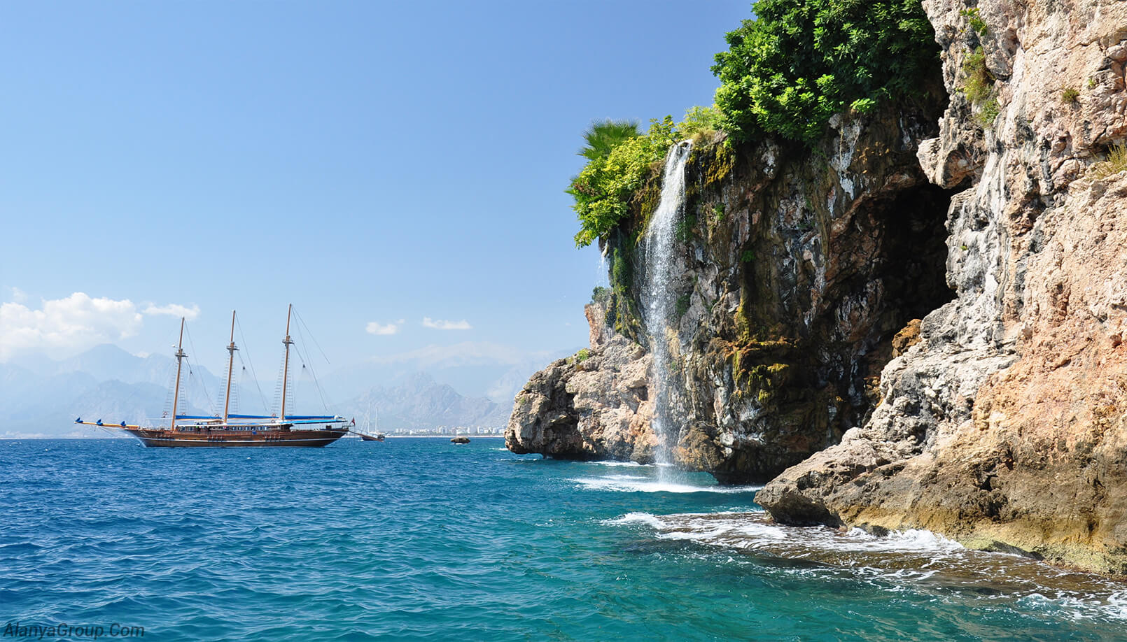 Amazing sea in Antalya