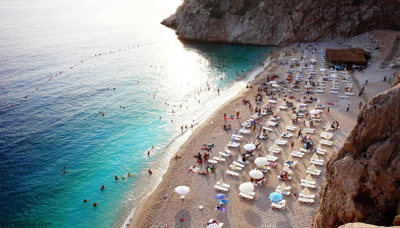 Antalya beach and beach