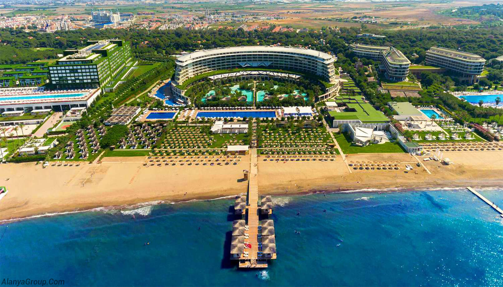 Antalya hotel beach