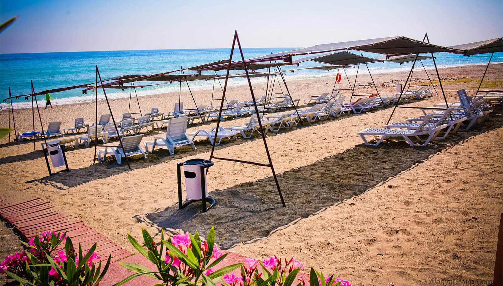 Antalya summer vacation beach