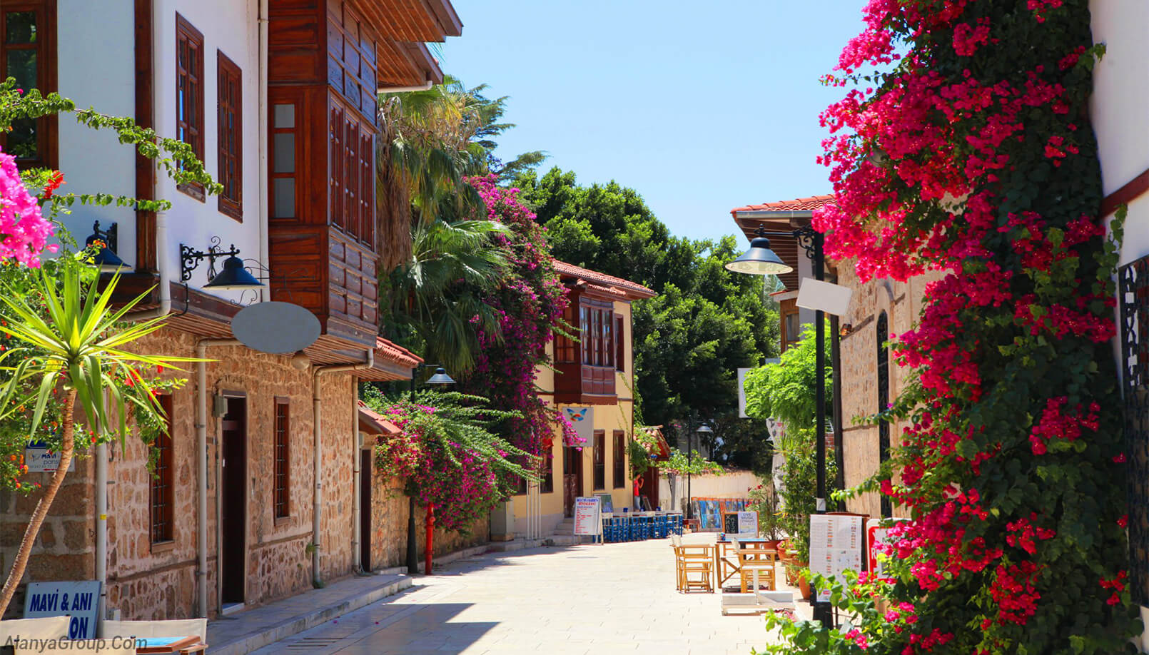 antalya historical houses