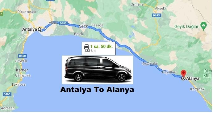 Antalya To Alanya