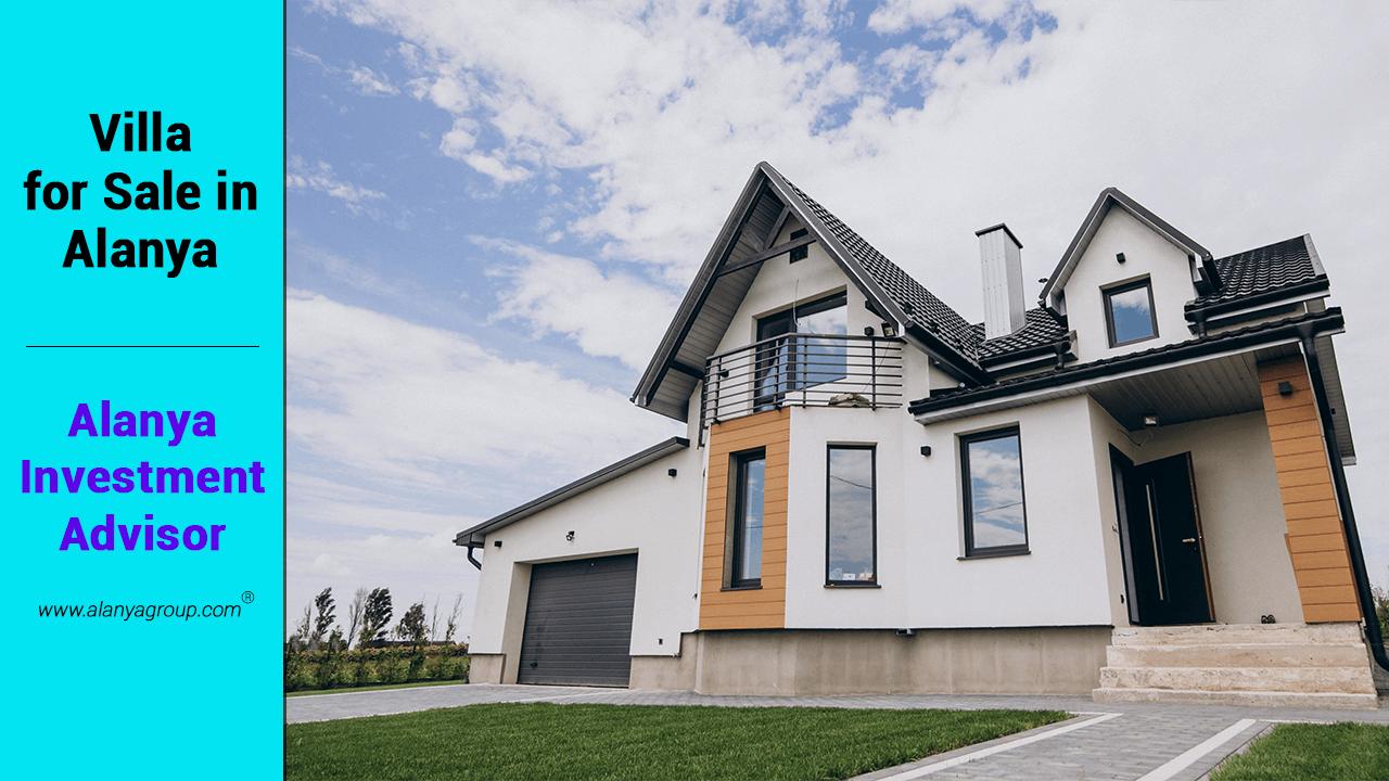 Villa for Sale in Alanya   investment in alanya